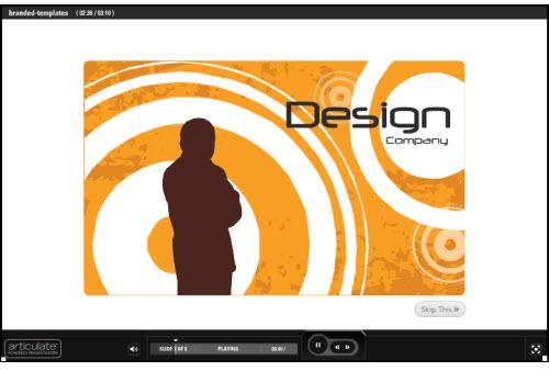 The Rapid E-Learning Blog - single screen branding ideas