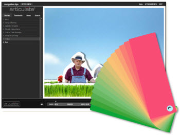 Rapid E-Learning Blog - custom colors for PowerPoint