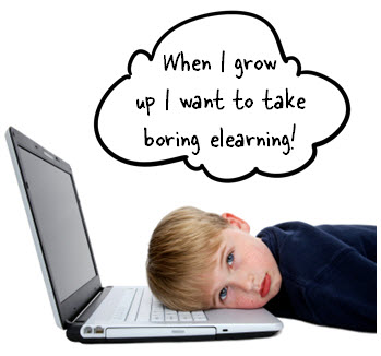 The Rapid E-Learning Blog - boring elearning courses