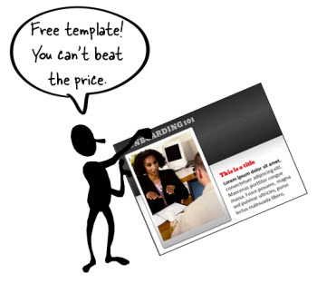 The Rapid E-Learning Blog - Here's a free PowerPoint template