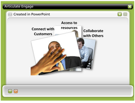 The Rapid E-Learning Blog - combine Flash movies from PowerPoint with Articulate Engage to create a media-rich experience