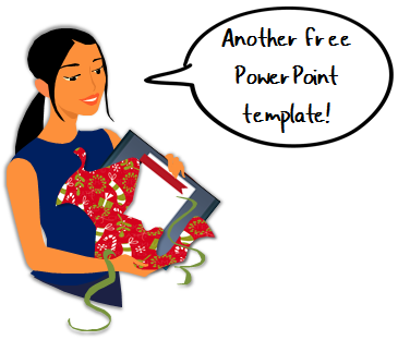 The Rapid E-Learning Blog - free PowerPoint template and 100 free PowerPoint tutorials