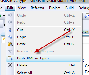 Paste XML as Types
