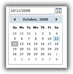 Silverlight DatePicker and Calendar