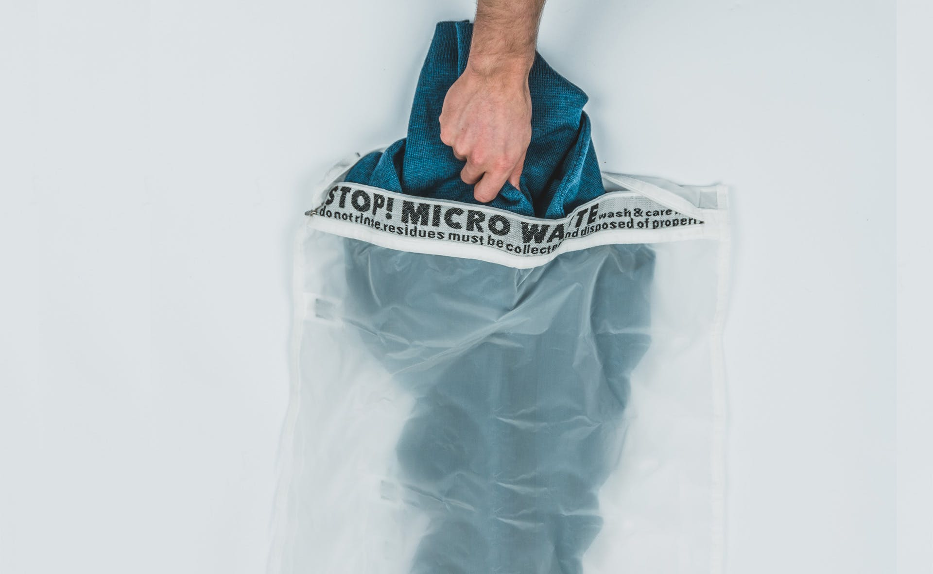 A bag like this traps microfibres!