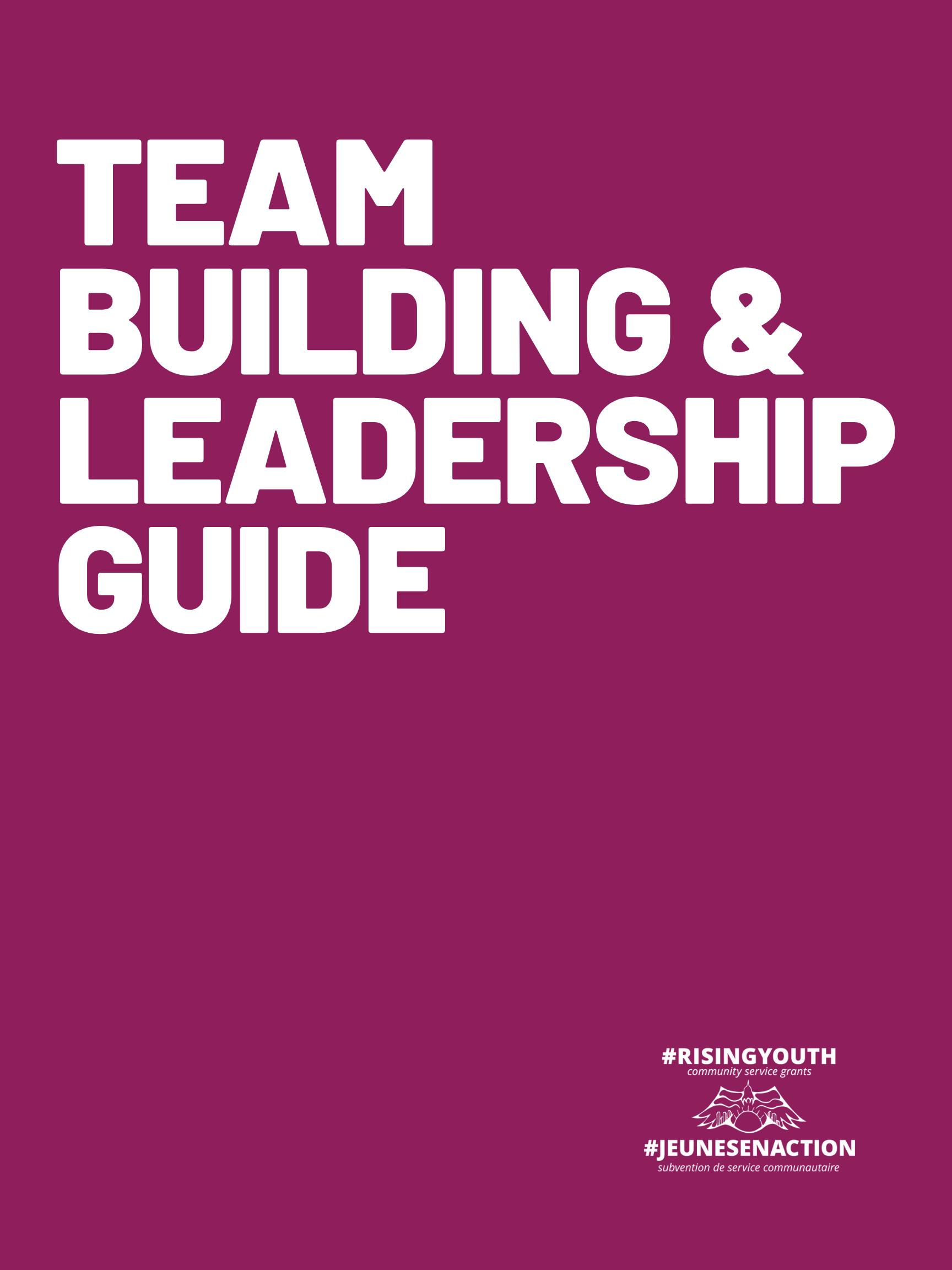 Team Building & Leadership Guide