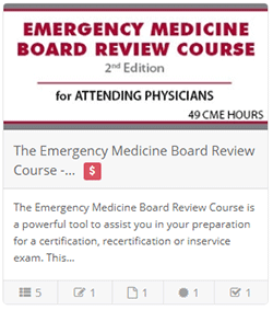 The Emergency Medicine Board Review Course - 2nd Ed.