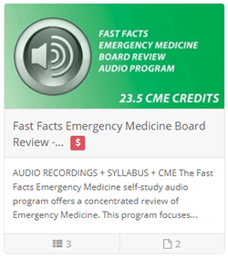Fast Facts Emergency Medicine Board Review - Audio Includes CME