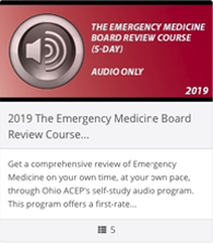 2019 Emergency Medicine Board Review Course (5 Day) - Audio Only