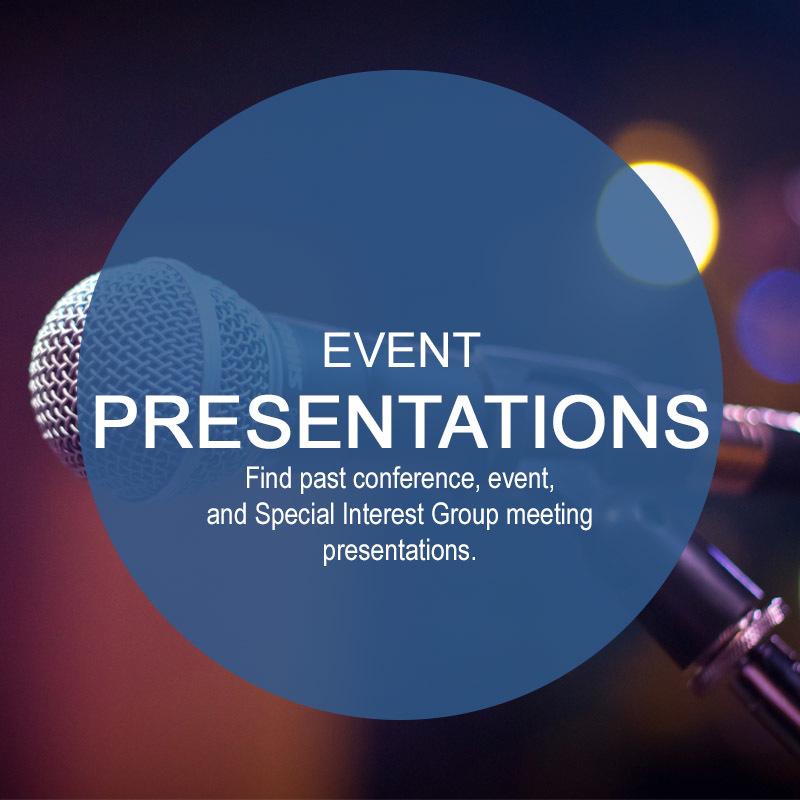 Event Presentations