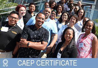 AISAP CAEP Certificate