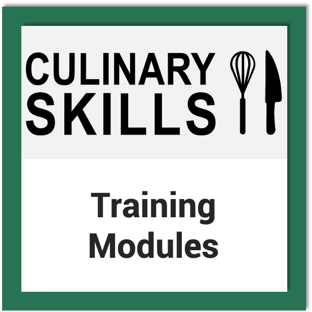 Culinary Skills Training Modules
