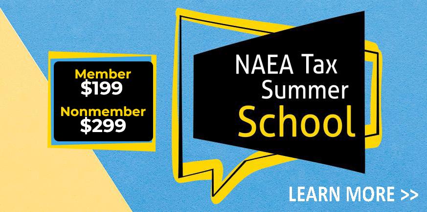 NEW! August Tax Summer School