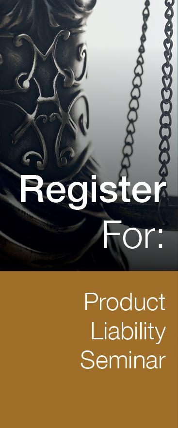Product liability seminar