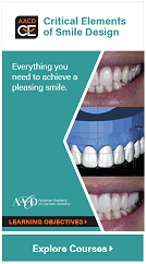 Critical Elements of Smile Design Learning Path