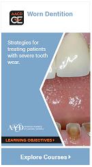 Worn Dentition Learning Path