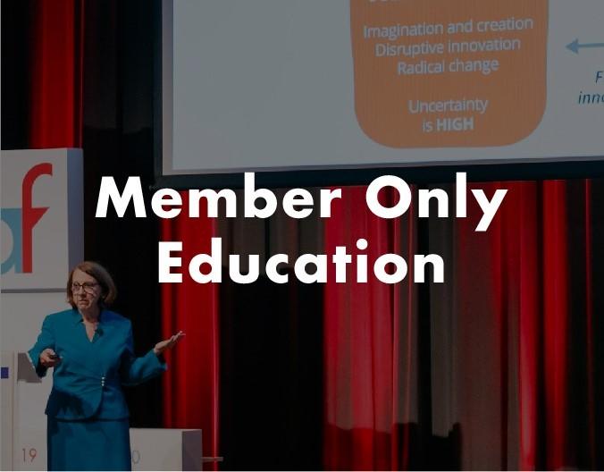 Member Only Education