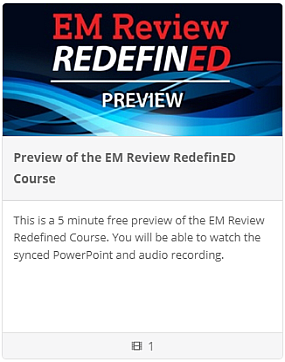 Preview of The EM Review RedefinED