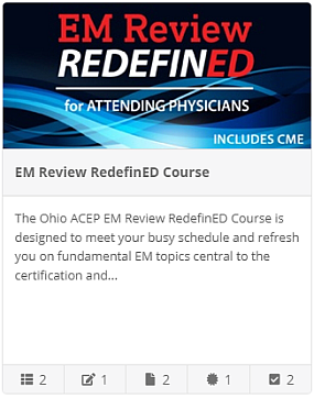 The EM Review RedefinED - Attending Physicians