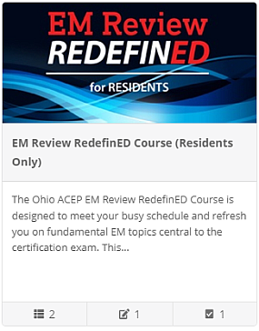 The EM Review RedefinED- Residents