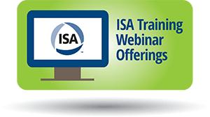 ISA Training Webinar Offerings