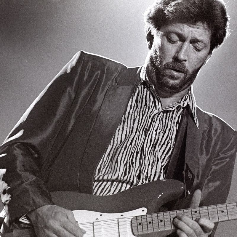Eric Clapton Signed Electric Guitar
