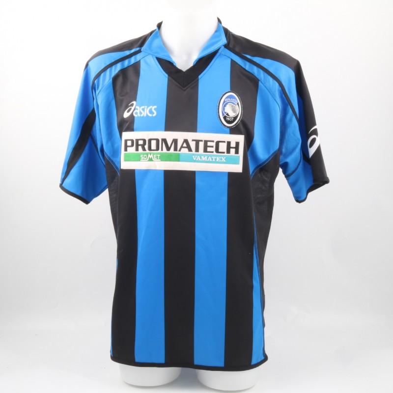 Atalanta Bernardini Match Isssued/Worn Shirt, Serie B 03/04
