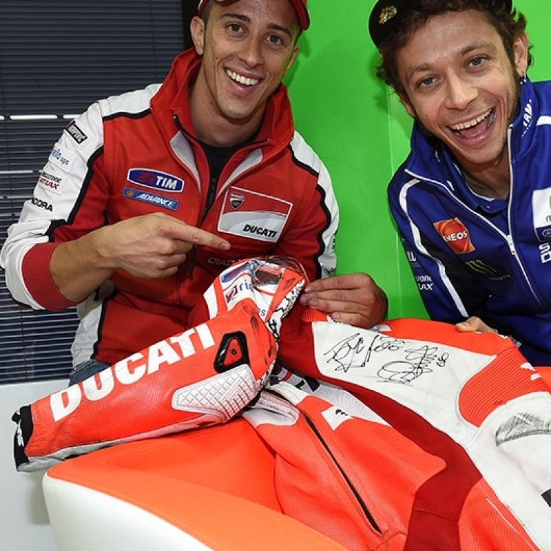 Andrea Dovizioso's race-suit worn at Indianapolis