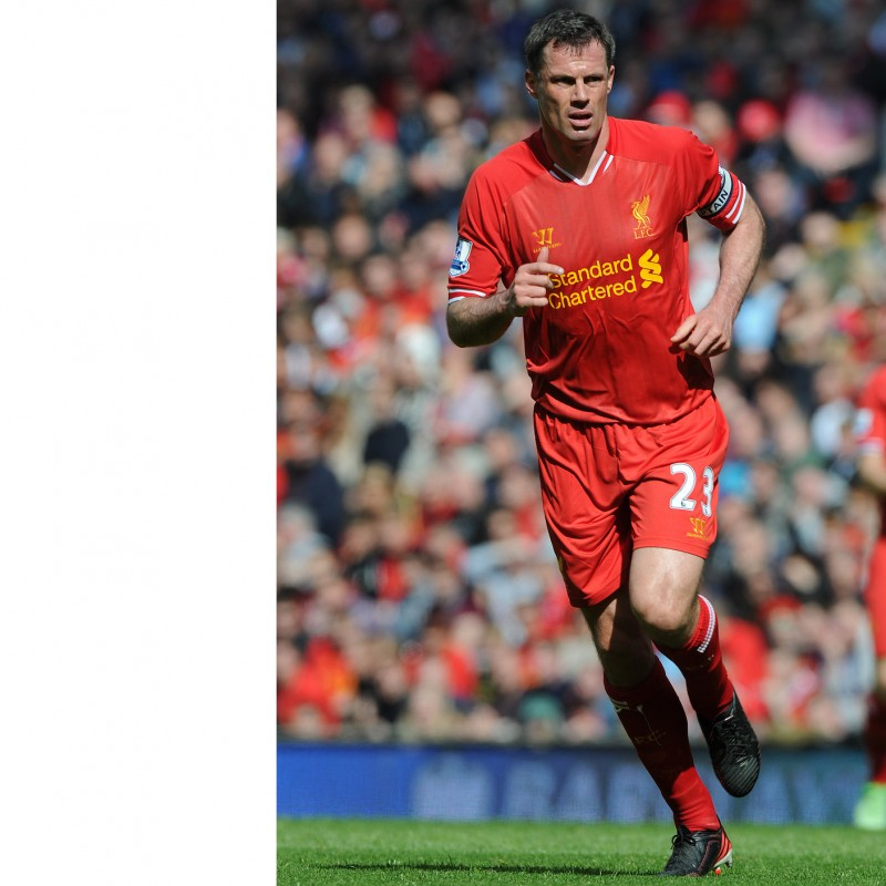 Liverpool Mascot Package with Legend Jamie Carragher