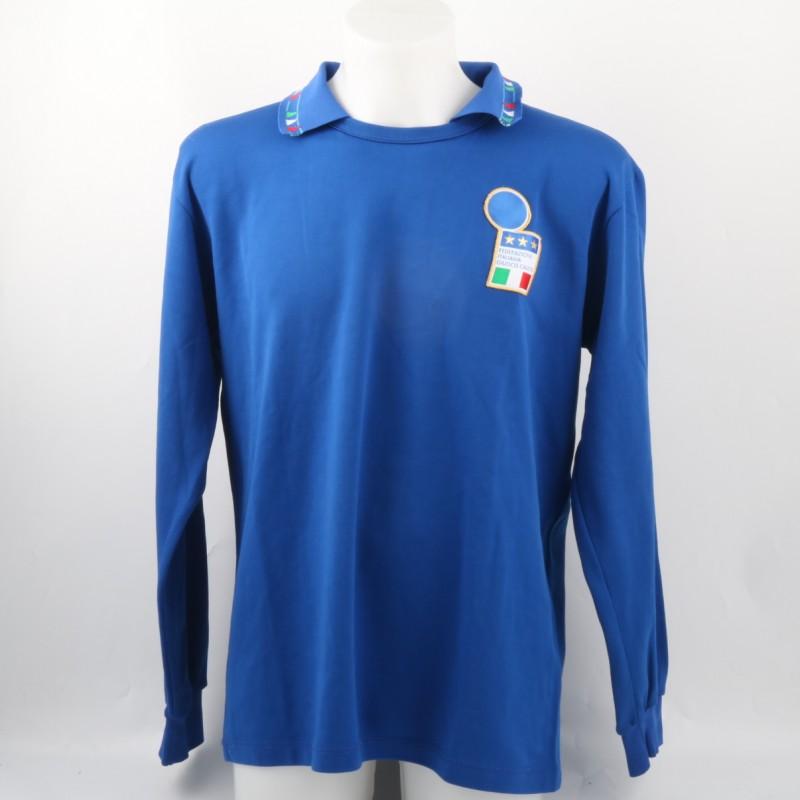 Paolo Maldini Match-Issued/Worn Shirt, Friendly 93/94