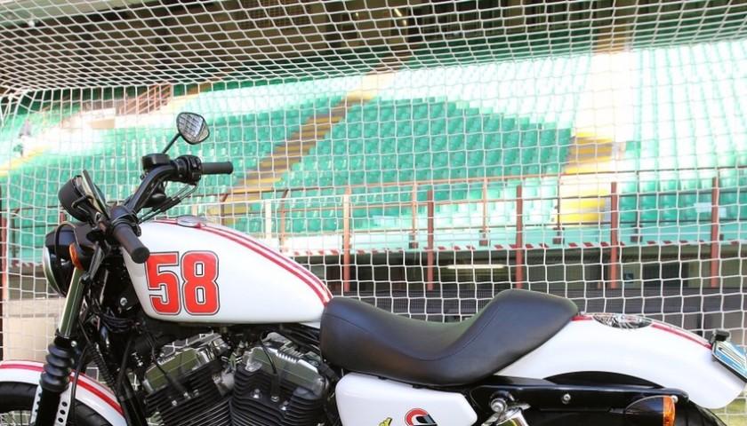 Christian Abbiati, AC Milan goalkeeper, gives you his Harley-Davidson special edition