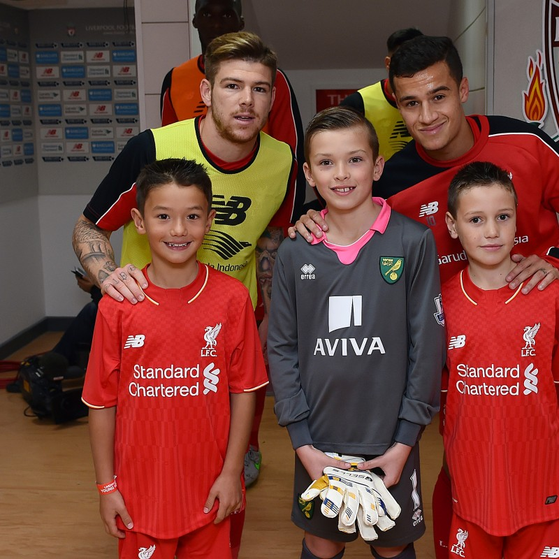 Liverpool Mascot Package for Third Round FA Cup Tie  vs Plymouth Argyle on 8th January 2017