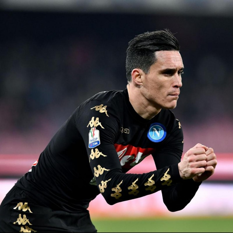 Callejon Match issued / worn Shirt, Serie A 16/17 - Signed
