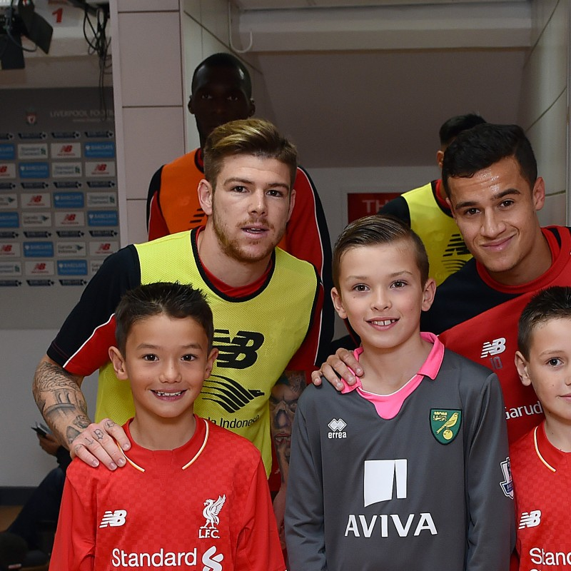 Mascot Package for Liverpool FC v Manchester United FC, October 17th 2016