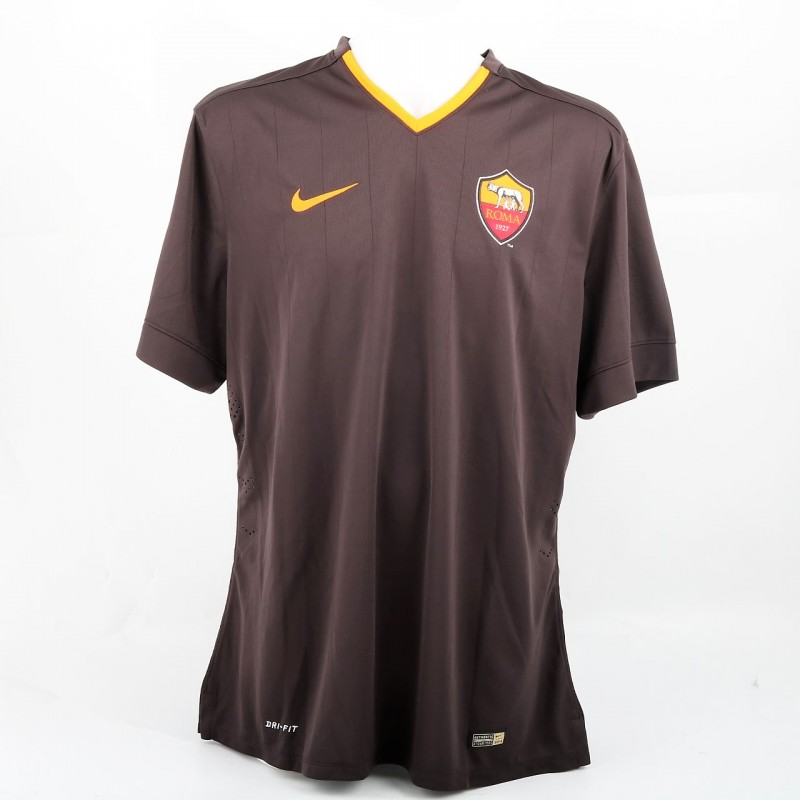 De Rossi Match issued Shirt, 2014/15 - Signed