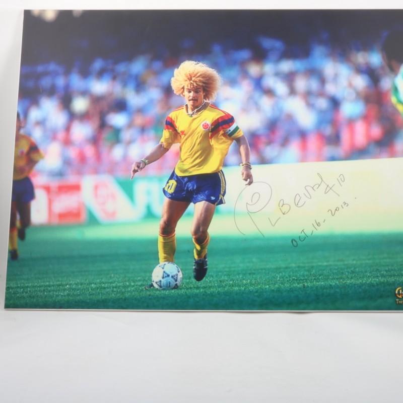 Valderrama Colombia Maxi-photo - Signed
