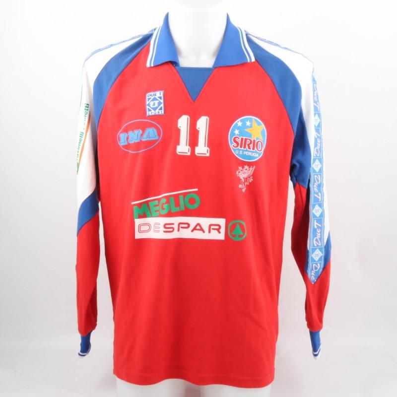 Ferretti Volley Worn Match Shirt, Perugia '80s