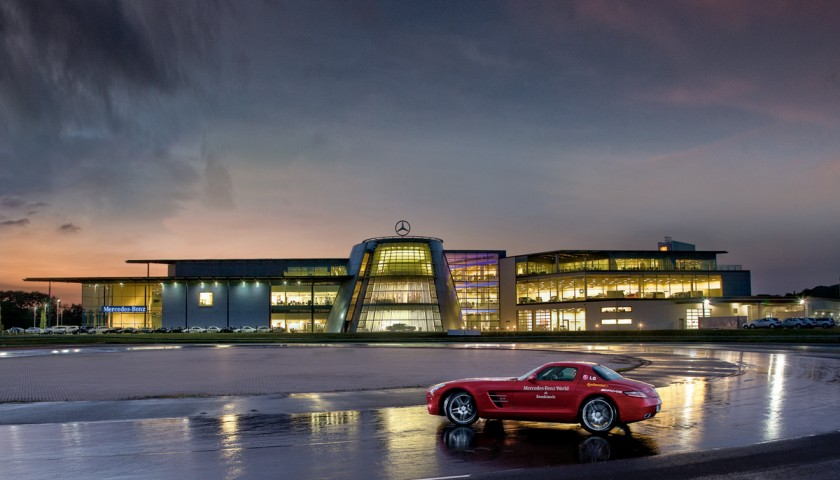 Meet the F1 Champion David Coulthard and Drive a SLS-AMG