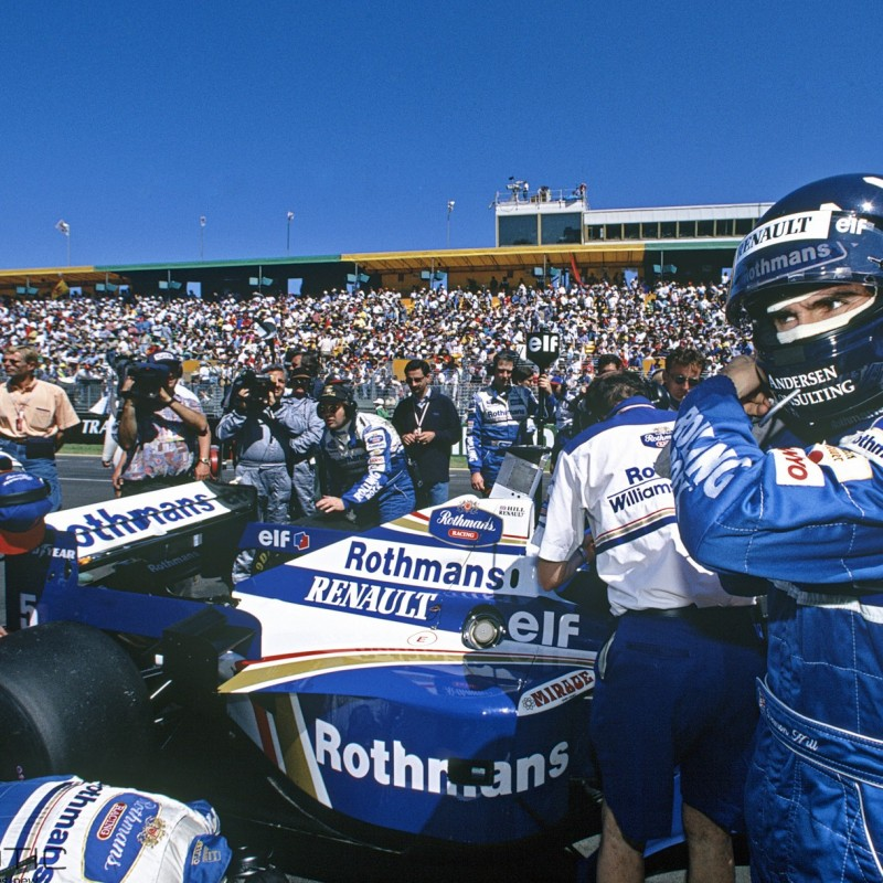 Damon Hill's used Overalls from his Championship-winning 1996 Season