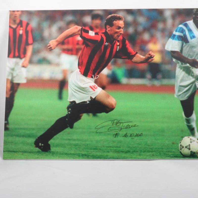 Papin Milan Maxi-photo - Signed