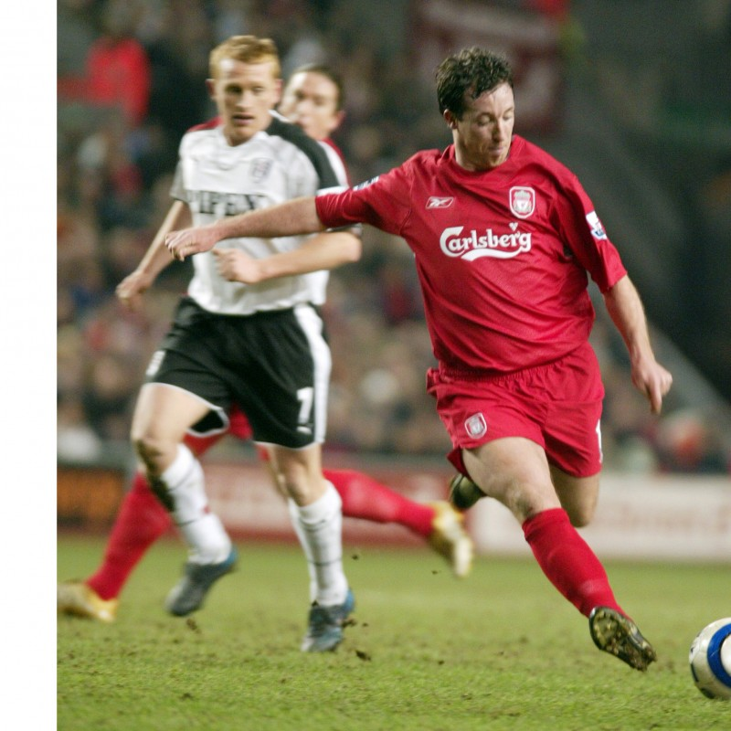 Liverpool Mascot Package with Legend Robbie Fowler