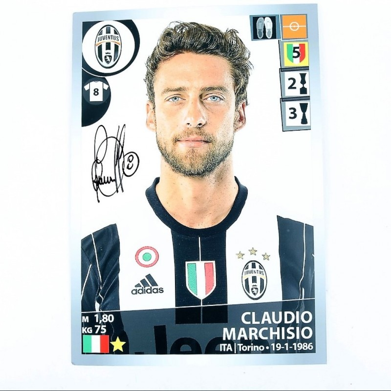 Marchisio, Limited Edition Box and Signed Maxi Sticker