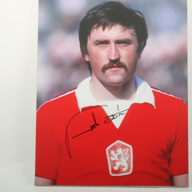 Panenka Czechoslovakia Maxi-photo - Signed