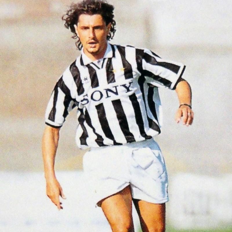 Padovano Match-Worn Shirt, Friendly 1996/97 - Signed