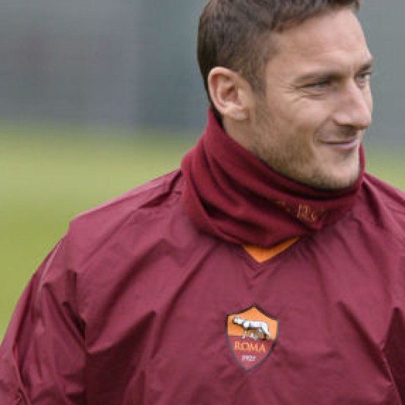 Meet Francesco Totti at Trigoria and receive his signed shirt from Totti himself
