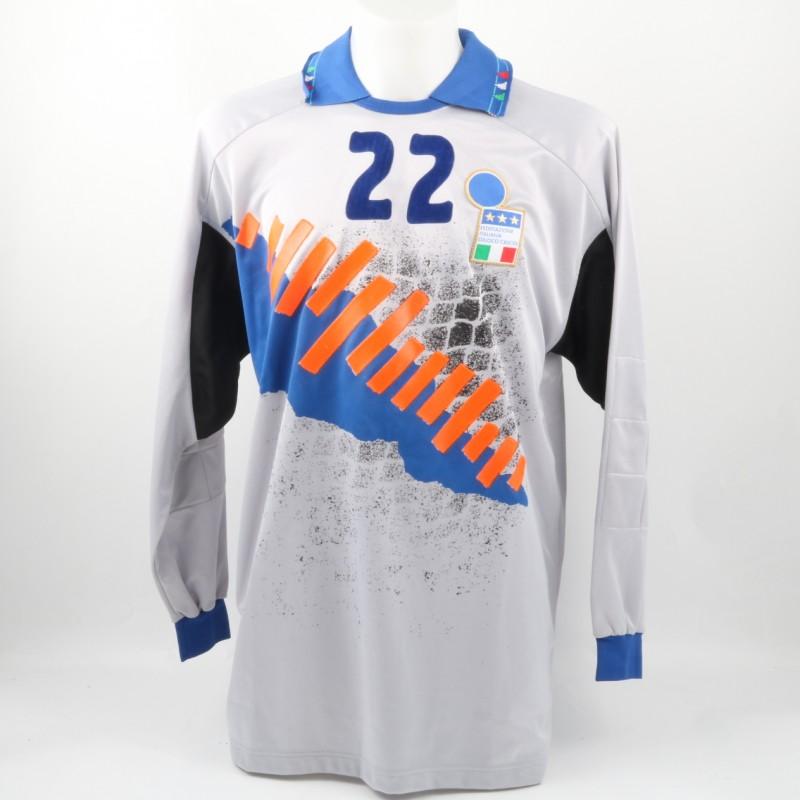 Bucci Italia Match issued/worn Shirt, Friendly 92/93
