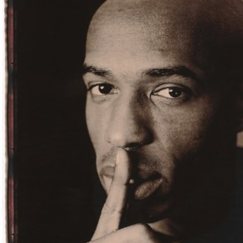 Thierry Henry Signed Giant Polaroid Print