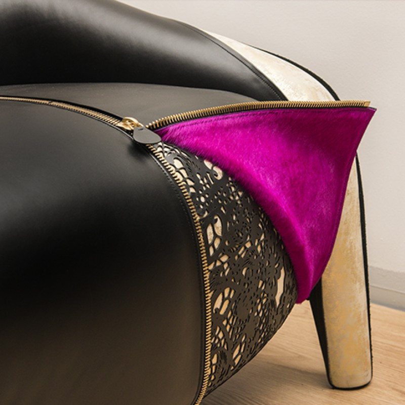 Audrey Armchair Personalized by Foglizzo and Chris Bangle