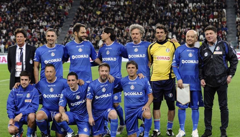 "Join the team for the ""Partita del Cuore"" match at Juventus Stadium"