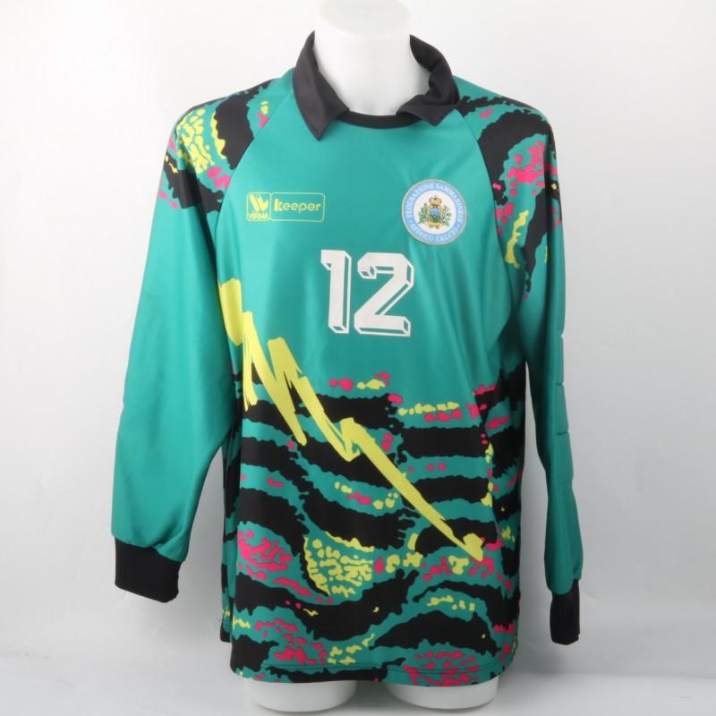 San Marino Match Worn Shirt, 90' Years